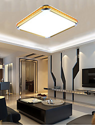 16W NEW Flush Mounte LED Light Luxury Modern Acrylic with Light Ajustable Golden Or Silver Can choose