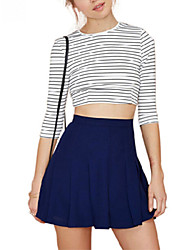 Women's High Waist All-Matched Pleated Mini Skirts