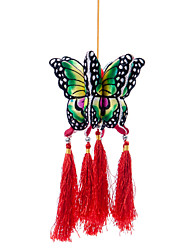 China Hand Embroidery Pendant-Butterfly Lamp (small)