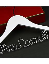Noiva Dama de Honor Menina das Flores Casal Presentes Piece / Set Prenda Criativa Casamento Felicitações Obrigado Liga de Alumínio Madeira