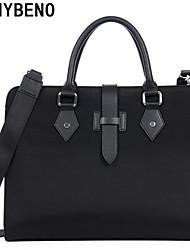 benybeno oficina bolso de mano maletín bussiness negro formal de los hombres