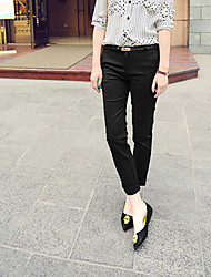 Women's Red/White/Black/Yellow Suit Pants , Casual