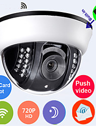Built-inTFcard 8GB QR code see video record in hand  720pH.264  wifi  ip camera(Wireless effective  distance just 5--8m)