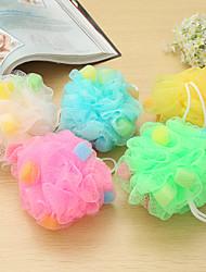5pcs baño ducha bolas bolas de colores al azar