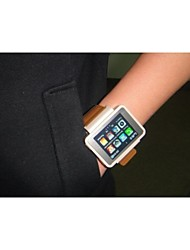 2015 new ultra-thin touch screen watch phone waterproof mini smart phone companion watch iwatch