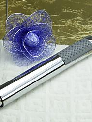Modern Stylish Handheld Shower Head Round Bar Hand Shower