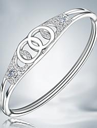 z & x® mode 925 bracelets strass évider parti / jour