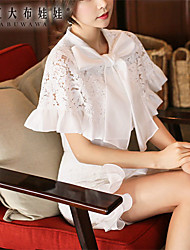 Pink Doll®Women's Bow Casual/Lace Sleeveless Shirt