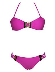 Women's Hardware Embellished Sexy Bikini
