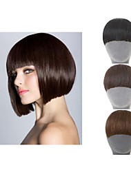 Natural Clip In On  Hair Extension synthetic  Bangs for women
