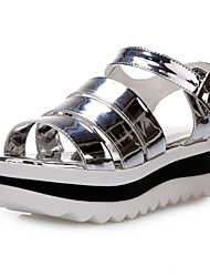 Women's Shoes Platform Gladiator Sandals Office & Career/Dress Black/White/Silver/Gold