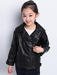 Girl's Cotton Blend Jacket & Coat , Winter/Spring/Fall Long Sleeve