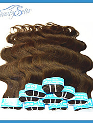 1Kg Wholesale 5A Brazilian Human Hair Extensions Body Wave 100% Human Hair Color Medium Brown