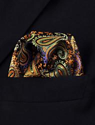 UH1 shlax&multi-couleur paisley aile poche mens carrés mouchoirs mariage mouchoir