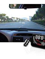Echoman Head UP Display HUD Big Font Time Display High Brightness Remote Control Over Speed Indication