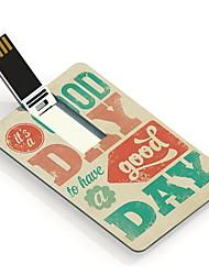 64GB It's A Good Day Design Card USB Flash Drive