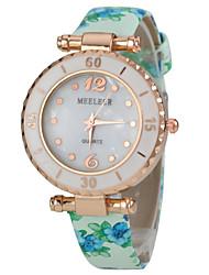 Women's PU Band Quartz Analog Wrist Watch (Assorted Colors)