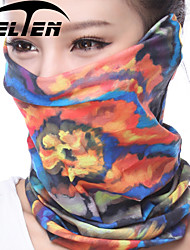Zelten Unisex Multifunctional Outdoor Headwear Impression Of Flower