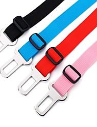 Car Vehicle Seat Safety Belt for Pet Black Dog Seatbelt Clip