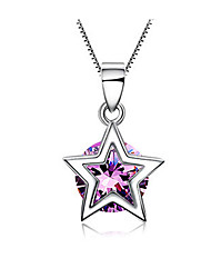 Aimei Women's Silver-plated High Quality Handwork Elegant Necklace