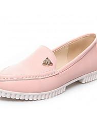 Women's Shoes Synthetic Low Heel Heels/Basic Pump Pumps/Heels Office & Career/Dress/Casual Black/Blue/Pink/White