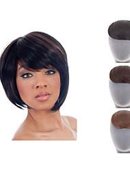 naturelle ladite pince dans la frange frange de cheveux synthétiques pour les femmes 3 couleurs