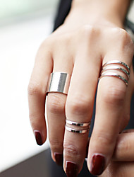 Ring Daily / Casual / Sports Jewelry Alloy Women Midi Rings / Set 3pcs,Adjustable Gold / Silver