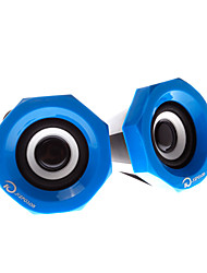 ku-007 forma dinâmica computador de alta qualidade alto-falante com fio (cores sortidas)