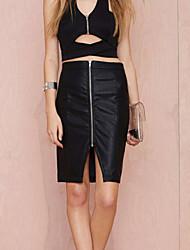 Women's Zip It Pencil Straight Skirt