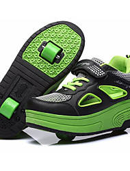 ultra-light double wheel skating shoes