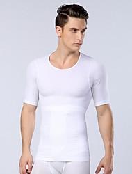 sexy shaper corpo emagrecimento aptidão barriga homens roupa interior térmica camisa esporte espartilho novos homens da chegada