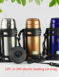 12 Volt/24 Volt with Cigar Lighter Heating Boiling Water Car Cup