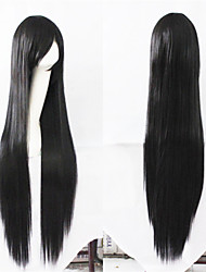 100CM Black Straight Cheap Wigs Hair  Synthetic Hair Wigs