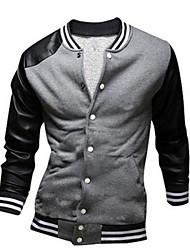 MEN - Giacche e cappotti - Informale Maniche lunghe Misto cotone