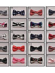 Hot 20 Styles Neck Bowtie for Children Toddler Boys Formal Suit & Tuxedo 01