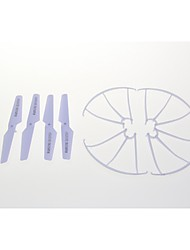 4PCS X5C-02 Propeller、Blade +4PCS X5C-03 Blade Protecting Frame Spare Part for SYMA X5C RC Quadcopter Helicopter Drone.