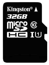 Kingston 32GB Class 10 Micro SDHC Memory Card UHS-1