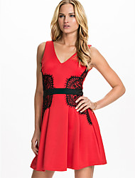 Fashion Vestidos De Festa WomeEvening Sexy Dress Backless Bodycon Bandage Clubwear Mesh Petchwork Party Dress