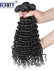 """3 unidades / lote 8 """"-28"""" 8a não transformados matérias-extensões de cabelo indiano virgem onda profunda cabelo humano tece"""