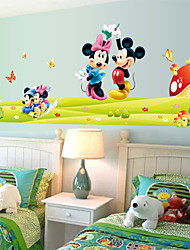 Cartoon Mouse PVC Wall Sticker Wall Decals