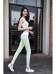 Mujer Carrera Pantalones / Leggings Yoga / Fitness / CarrerasTranspirable / Secado rápido / Libre de Estática / Capilaridad / Compresión