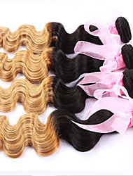 1 Pcs Lot 8-24 Inch Brazilian Virgin Hair #27 Body Wave Human Hair Weave  Ombre hair products