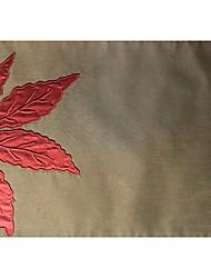folha de bordo bordado applique promoção placemat placemat
