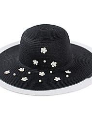 Sombrero Floppy ( Paja ) - Mujer - Vintage/Fiesta/Casual
