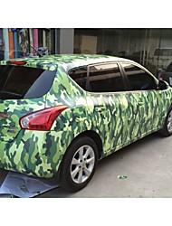 1.52m * 1m mate pvc polimérico coche de vinilo envuelve cromo etiqueta engomada del coche pegatina con accesorios de automóviles de aire y