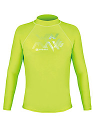 Winmax® UV50+ Protection Long Sleeves T-Shirt \ Lycra Rash Guard for Man