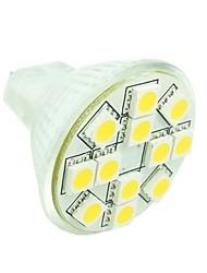 3W GU4(MR11) LED Spot Lampen MR11 12 SMD 5050 160-180 lm Warmes Weiß / Kühles Weiß / Natürliches Weiß Dimmbar / DekorativDC 12 / AC 12 /