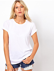A STYLE Women's Sexy Casual Round Sleeveless T Shirts