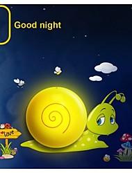Lights Control Sensor Night Light Wall Stickers Dream Child Painting Wallpaper LED Light-Quick Snail