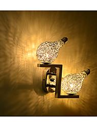 Chandeliers muraux LED/Ampoule incluse Moderne/Contemporain Métal